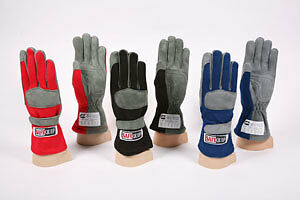 RaceQuip Single Layer SFI 3.3//1 Driving Racing Gloves Choice of Size /& Color