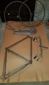 Dettagli Su Telaio Bici Vintage Bianchi A Bacchette 1950 Da Uomo 28 Modello Topazio