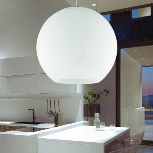 Smart Home LED Decken Lampe weiß Pendel Hänge Leuchte Glas Kugel dimmbar RGB