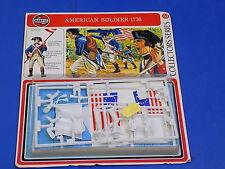 Airfix década de 1970 54mm kit modelo de soldado americano 1776