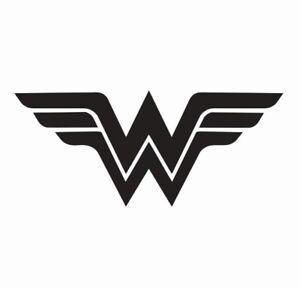Wonder-Woman-Superhero-Vinyl-Die-Cut-Car-Decal-Sticker-FREE-SHIPPING