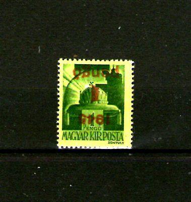 1945 Aushilfs I 1p/1p Gelb Ungarn.hungary.hongrie.hungria.100€ Mh