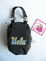 Ucla Black Accessory Money Bank Cards Flip Phone Keys Coins Id Purse