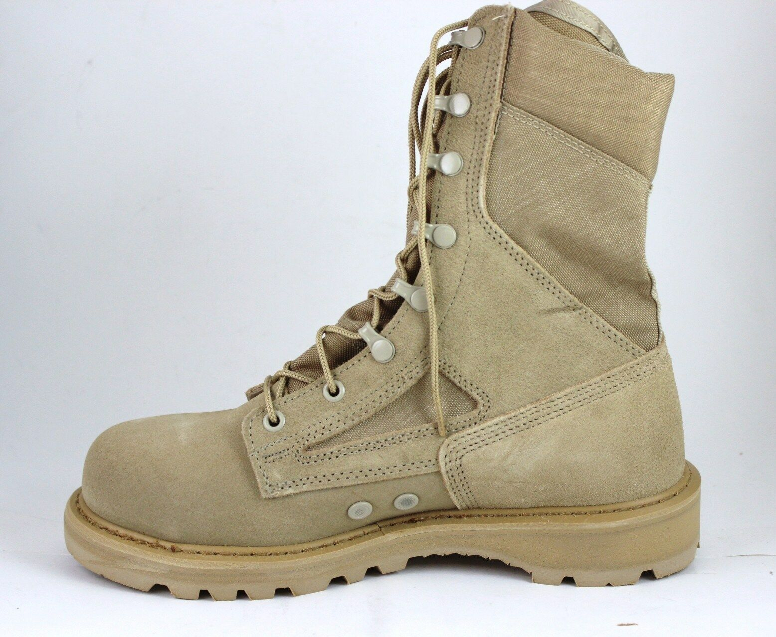 Rocky Stiefel Stiefel Stiefel R6008 8  Hot Weather Tan Desert Safety Steel Toe Brand New In Box 2e2c5f