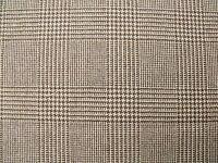 100% Wool Glen Check Fabric 1.4 m