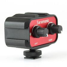 "Saramonic sr-ax100 2 Canali 3,5 mm (1/8 "") Mixer Audio Adattatore Interfaccia Per DSLR"