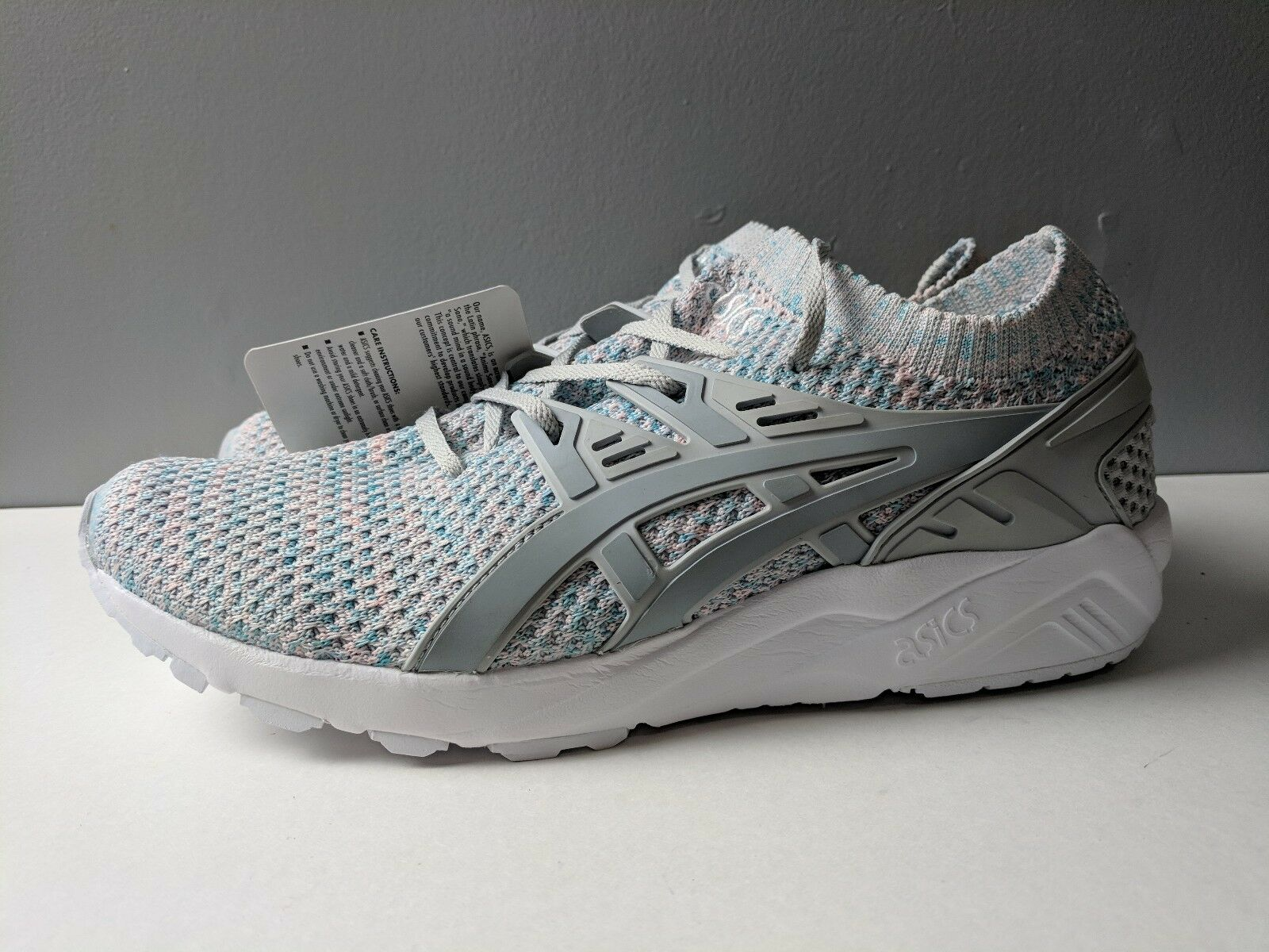 Brand New Asics Gel Kayano Trainer Knit Glacier Grey/Mid Grey Men's Comfortable Cheap and beautiful fashion