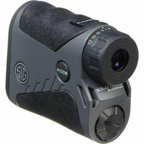 New 2018 Sig Sauer Kilo 1250 6x20 Digital Laser Rangefinder Kilo1250 SOK12601