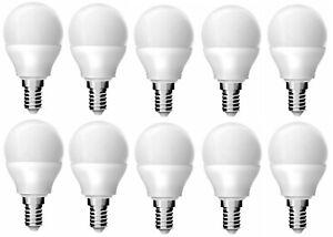 REER-10-PEZZI-Lampadine-Led-Luce-a-Sfera-Attacco-Piccolo-E14-Bianco-Caldo-3-4W