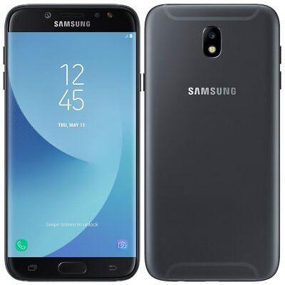 "SAMSUNG GALAXY J7 2017 16GB BLACK DUAL SIM 3GB 5.5"" OCTACORE 4G LTE ITALIA BRAND"