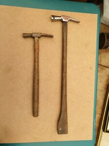 ANTIQUE-VINTAGE-JEWELLERS-SILVERSMITHS-HAMMERS-FINE-SMALL-SIZED-SET