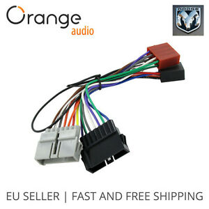 wiring harness adapter iso lead for dodge from 1984 to 2001 iso rh ebay com