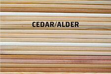 "Grilling Plank Cedar - Alder Variety 5""x11"" (2nds): 30 Pack - 15 of Each"