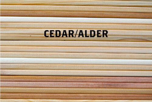 "Cedar /& Alder Grilling Planks 30 5x11/"" Variety Pack for Grill Planking"