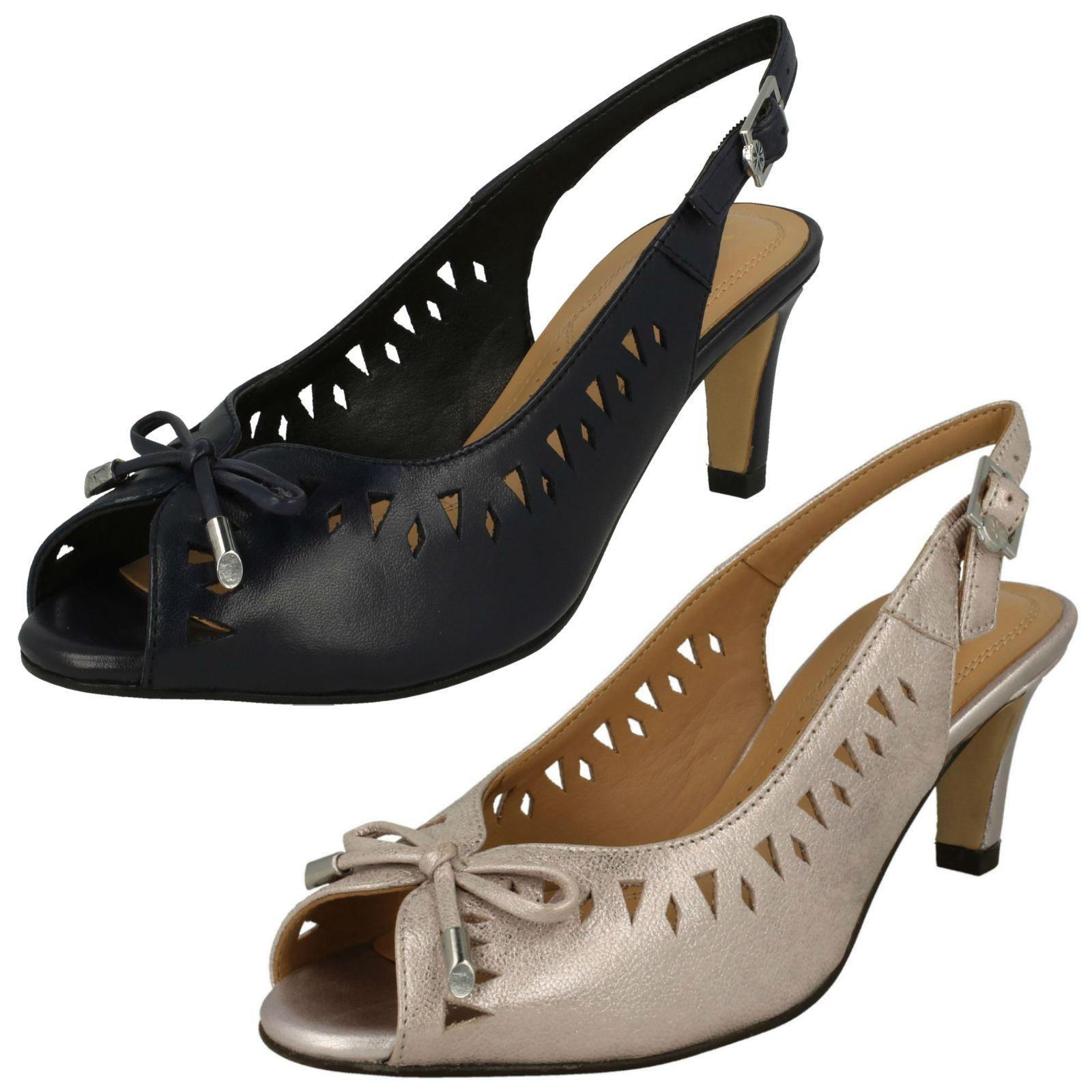 migliori prezzi e stili più freschi Ladies Van Dal Peep Toe Sling Indietro Sandali Sandali Sandali hazelbrook  spedizione veloce a te