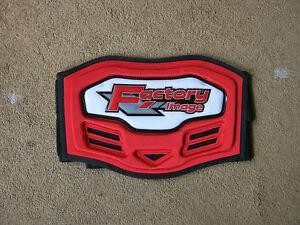 motocross kids body belt red new in pack