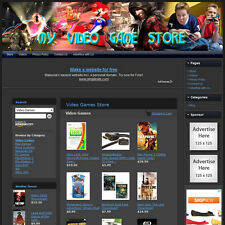 VIDEO GAME STORE - Fully Automated Home Based Business - Amazon+Google Affiliate