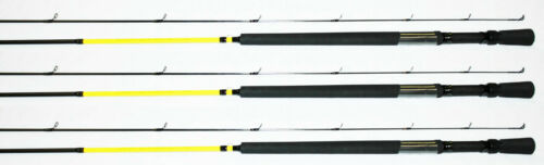 YELLOW//BLK Details about  /3 EACH MR CRAPPIE CUSTOM GRAPHITE REAR SEAT ROD 12/' POLE CGR12L-2