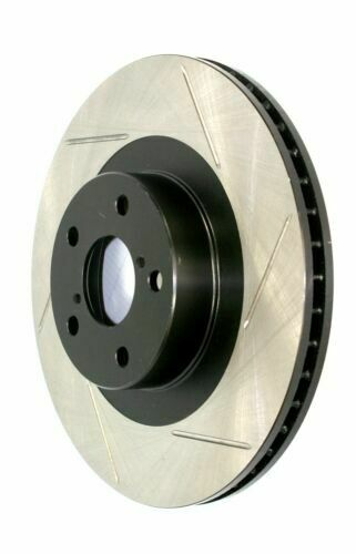 Front Right StopTech 126.44146SR Sport Slotted Brake Rotor
