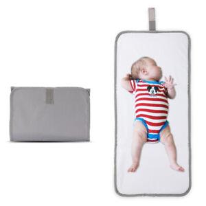 Baby-Portable-Folding-Diaper-Travel-Changing-Pad-Waterproof-Mat-Bag-Storage-New