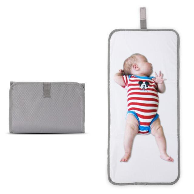 New Baby Portable Fold Diaper Clutch Travel Change Pad Waterproof Mat Storage C