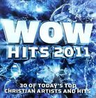 WOW Hits 2011 by Various Artists (CD, Oct-2010, 2 Discs, Provident Music Group)