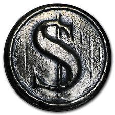 3 oz Silver Round - MK Barz & Bullion (Dollar Sign) - SKU #97035
