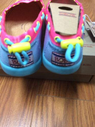 "New Girl/'s//Childs Skechers  Lil Bobs Bob/'s /""Color Crush/"" Shoes//Flats 85097L"