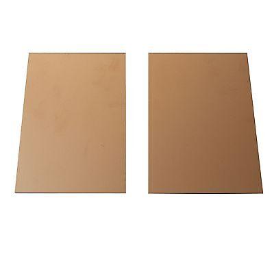 10pcs 100x150mm 0.4mm FR4 Copper Clad Plate Laminate PCB Printed Circuit Board