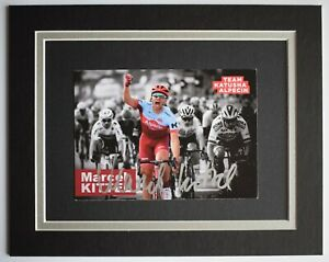 Marcel Kittel Signed Autograph 10x8 photo display Cycling Sport AFTAL COA