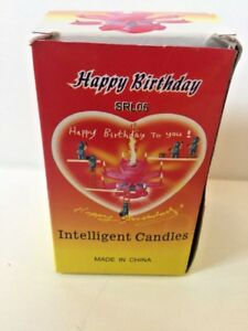 Image Is Loading Amazing Musical Lotus Flower Exciting Happy Birthday Candle