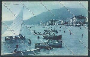 Savona-Alassio-Barca-cartolina-ZQ0998