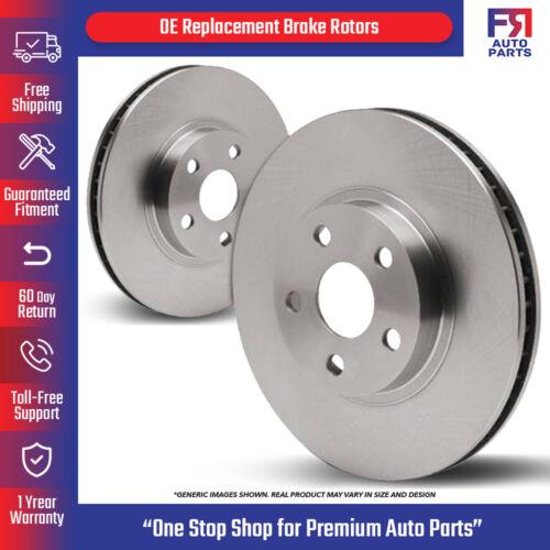 5lug 2 Brake Rotors For: RX350 RX400h Highlander RX330 Front Rotors High-End