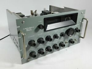 Hallicrafters Ht 20 Vintage Ham Radio Transmitter Looks Great Powers Up Sn 27 Ebay