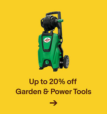 Up to 20% off  Garden & Power Tools