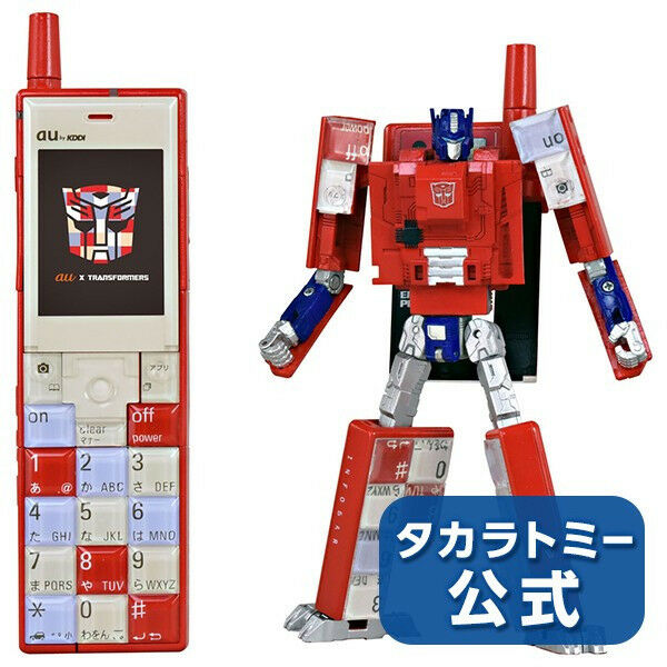 Transformers Makuake Exclusive Infobar Optimus Prime Nishikigoi New In Stock