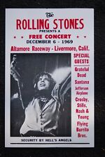 The Rolling Stones tour Poster 1969