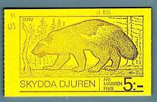 SWEDEN - SVEZIA - Libretto - 1976 - Protezione degli animali. Fauna