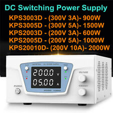 High Power Adjustable Dc Regulated Power Supply 200v300v 3a5a10a Programmable