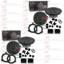 """4 x  INFINITY REFERENCE REF-6520CX 6.5"""" 2-WAY CAR AUDIO COMPONENT SPEAKER SYSTEM"""