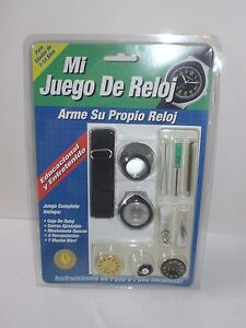 Mywatch diy build it yourself my watch kit build a watch set image is loading mywatch diy build it yourself my watch kit solutioingenieria Gallery