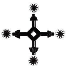 4 Way Drill Press Chuck Key Carbon Steel Combination 12 916 58 1116 Us
