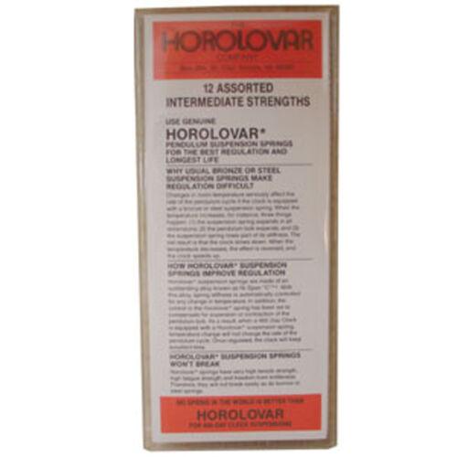 SPWA102 New 400-Day Horolovar Clock Suspension Wires Intermediate Assortment