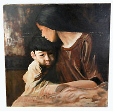 judith holding the head of Giant and sword canvas Oil painting august riedel