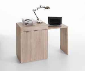Schreibtisch-Computertisch-Buerotisch-Bueromoebel-Workstation-Tisch-Mod-T176-Eiche
