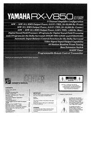 Owners manual yamaha rx-v671bl reviews