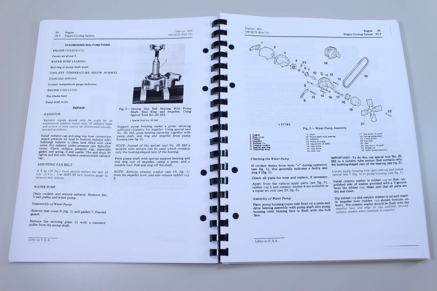 John Deere 830 Tractor Service Repair Shop Manual Technical Book 1973-1975  All | eBay