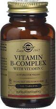B-Complex with Vitamin C Stress Formula, Solgar, 100 tablet