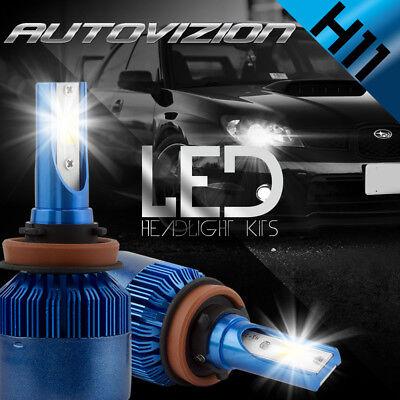 AUTOVIZION LED HID Headlight Conversion kit H11 6000K for 2012-2013 Kia Soul