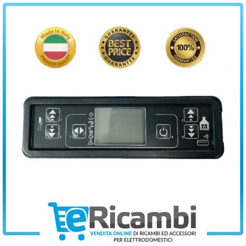 Scheda Tastiera Display Micronova Stufa Pellet LCD F047/_2Dim 160x50x23 mm